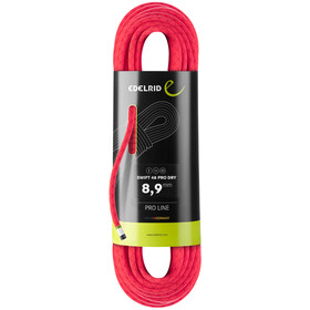 Edelrid Swift 48 Pro Dry Rope 8,9mm x 50m, pink